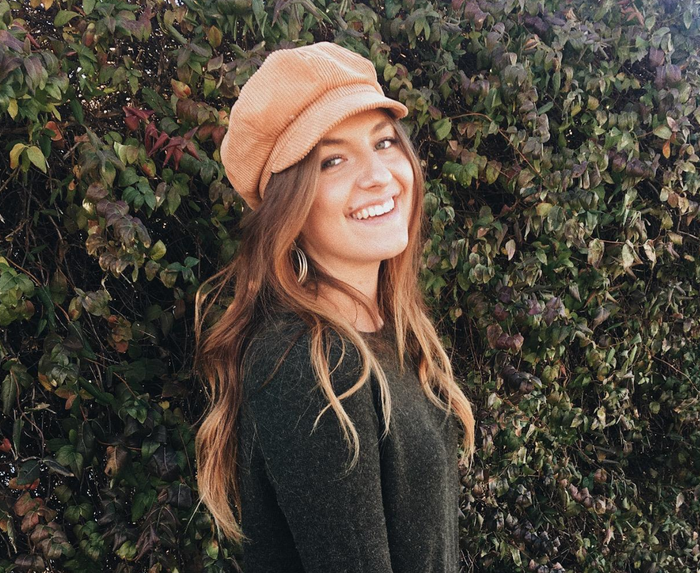 """Promising review: """"My new favorite hat! So cute and goes with so much. Everywhere I go I get compliments on it, and I absolutely love that I didn't have to break the bank to be trendy. This same style of hat from other brands is around $60-$100! I do have a big head, so it is a little snug. Over time, it's loosened up a bit though! Get it for those bad hair days or just to add an extra dose of cute to your outfit."""" —McKenziePrice: $11.28 (available in 15 colors/prints)"""