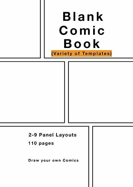 The Blank Comic Book.