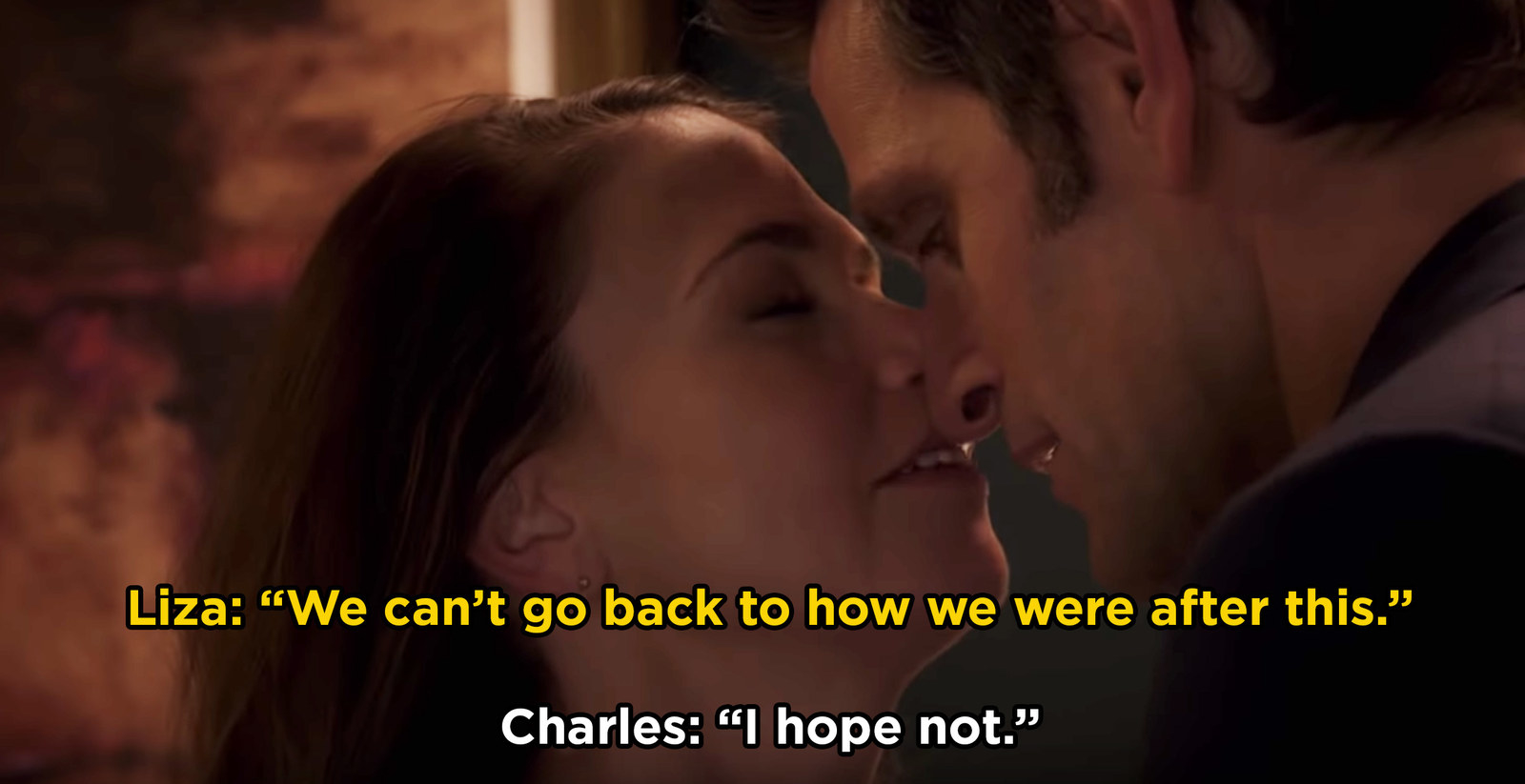 After seasons of will-they-or-won't-they, Liza and Charles hooked up in this season of  Younger .