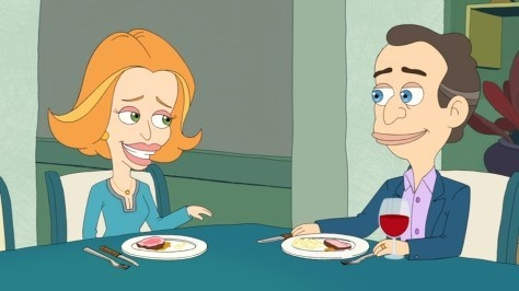 "Elliot and Diane from  Big Mouth  -  ""Look, I know these two aren't your typical parents — in fact, they create situations that are downright awkward AF on a regular basis — but I love, love, love the fact that they're voiced by Fred Armisen and Maya Rudolph. Those two could literally take a dump on a plate and I'd watch it!"" — crystalro"