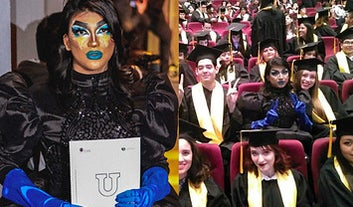 Este chico decidió ir en drag a su graduación y se robó el corazón del público