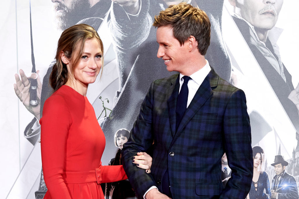 Luke, Eddie Redmayne and Hannah Bagshawe -  The couple's  son , Luke Bagshawe Redmayne, was born on March 10! He is their second child, along with their daughter Iris.