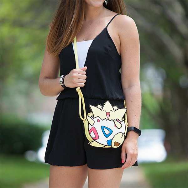 A Togepi Cross Body Bag That Will Go With Your Gamer Friend Everywhere Just Like Mistys Does In The Game