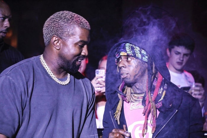 Kanye West's surprise performance alongside Lil Wayne during an event honoring the late XXXtentacion had Miami buzzing. Art Basel also has an intimate relationship with the more traditional fashion world, not to be confused with the world of streetwear. These traditional fashion sensibilities were evident by the way Kanye was mocked for wearing sweatpants on stage and then later at Prada's private pop-up at Freehand Hotel. In years past the presence of more standard Art Basel celebrities such as Leonardo Dicaprio or U2's Bono might have overshadowed a rapper, but the buzz surrounding Kanye showed how things have changed.