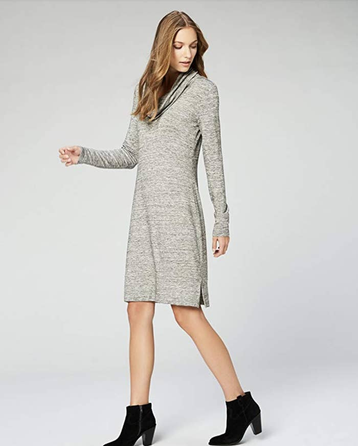 373efe2c593 A super-soft cowl-neck dress you can rock at work or when you meet your  friends for brunch on the weekend — throw on a pair of tights and boots and  ...