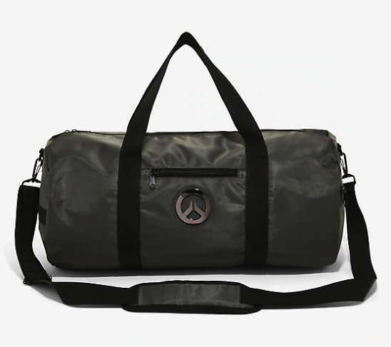 5eef7bc912f0 An Overwatch duffel bag that will let everyone at the gym know your gamer  friend means business (that is