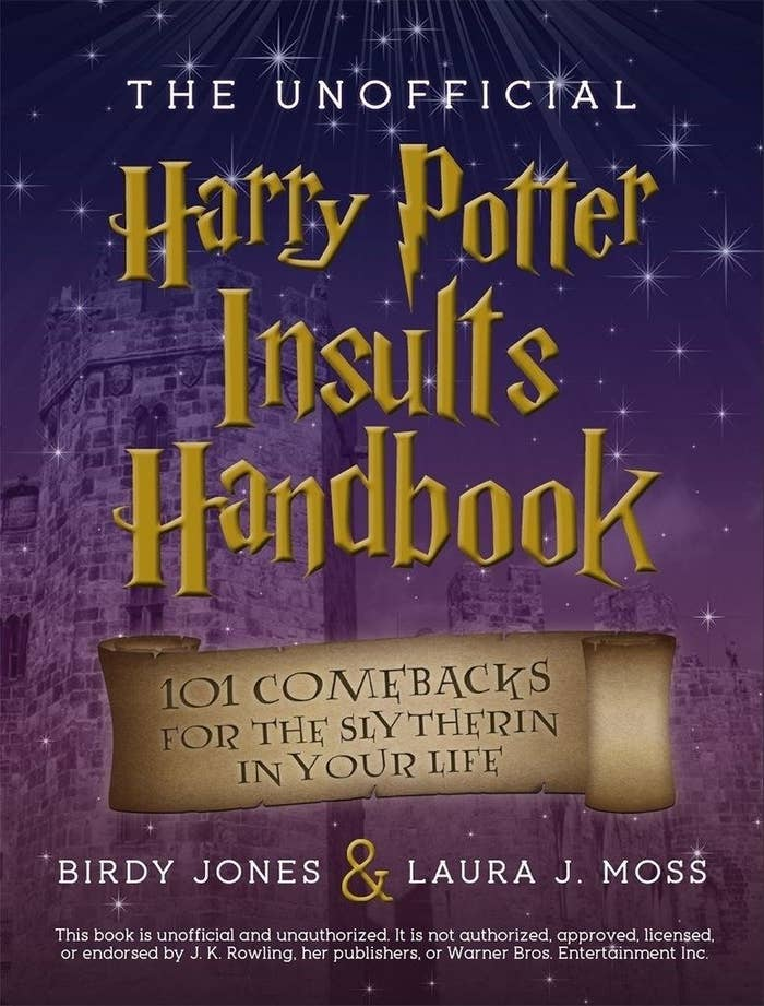 "It's packed with magically witty comebacks so you're never left without a zinger when confronted with He Who Must Not Be Named — your boss. Promising review: ""I gave this as a gift to my brother, a fellow Harry Potter fan. We were cracking up over the phone while he hand-selected a few of the one-liners. This is definitely a great gift idea!"" —EESAGet it from Amazon for $7.99."