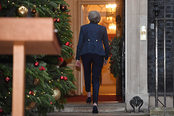 Conservative MPs Are Voting On Whether Or Not Theresa May Can Continue As Leader
