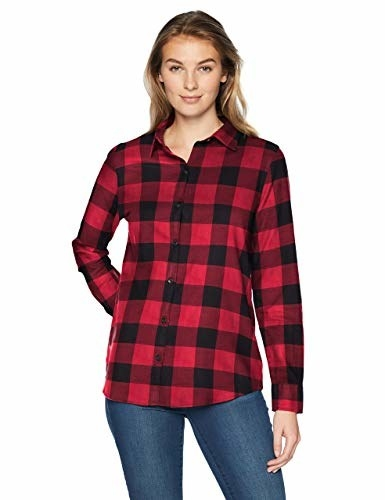 model wearing the shirt
