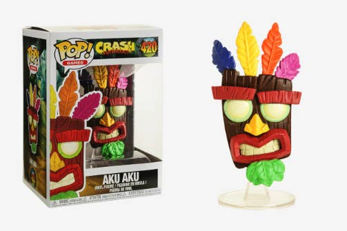 A Crash Bandicoot Funko Pop That Will Bring Your Fellow 90s Gamer Right Back To Their Childhood Every Time They Look At It