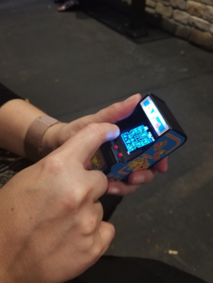A Pocket Sized Arcade Game So Gaming Enthusiasts Can Take Their Favorite Classic With Them Wherever They Go