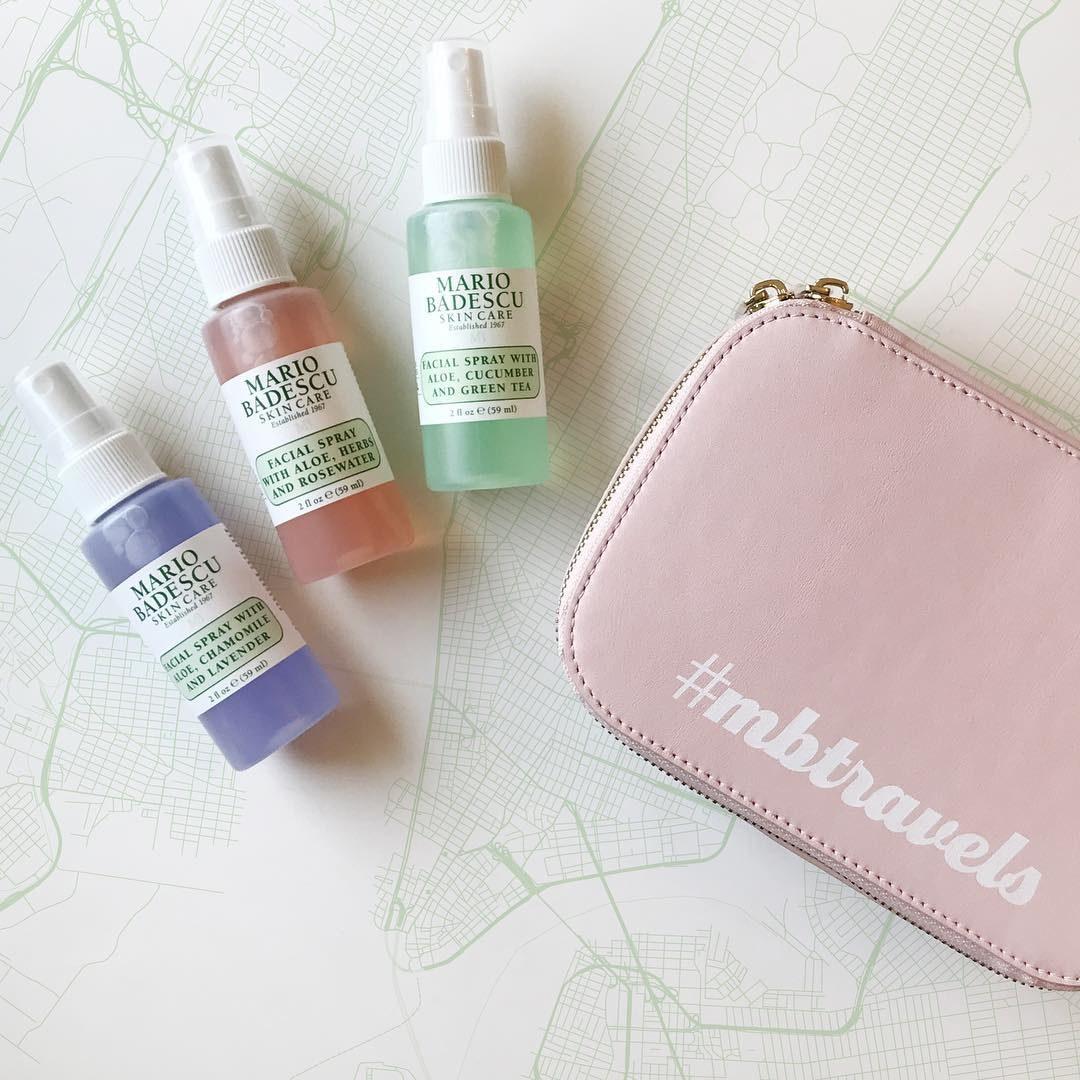 Three mini spray bottles