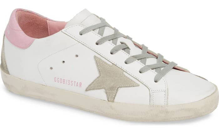 32819cfa1 A pretty-in-pink pair of Golden Goose sneakers, because you're a  street-style star and these shoes will be the splurgeworthy proof. Nordstrom