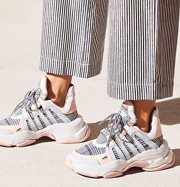 59004d5bdd4 A pair of arched Jeffrey Campbell chunky sneakers you re gonna love way  more than you re ever gonna wanna admit.