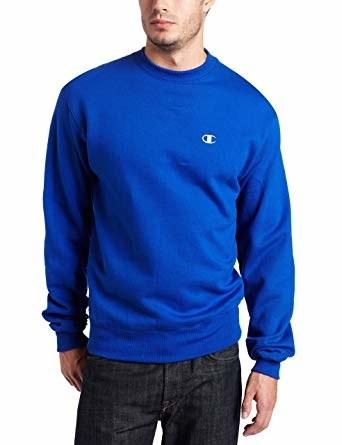 model wearing the sweatshirt