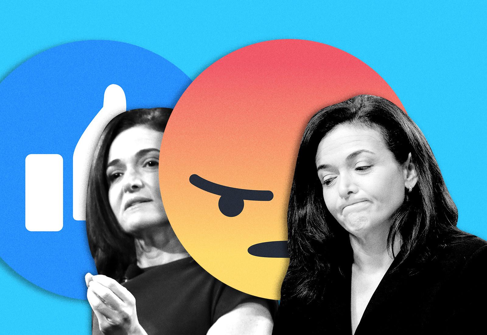 How Facebook's Sheryl Sandberg Went From Superwoman To Supervillain