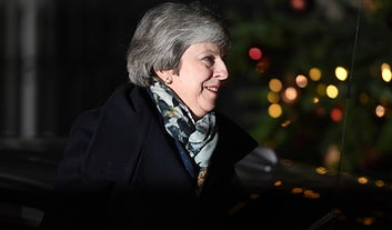 Tory MPs Have Voted To Keep Theresa May As Leader