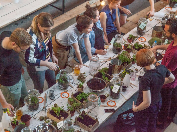 London Terrariums is the cutest store, all hanging plants and millennial pink walls. Given their name, it's no surprise they're experts in making terrariums and your plant-addict friend will learn a lot.Book a class here from £40.