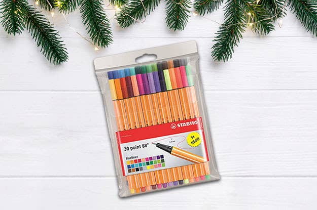 Whether they're a note-taking expert or just love staying organised, they'll appreciate this fineliner set. If used with care, they can last a long time. Get it here from Amazon, £18.99