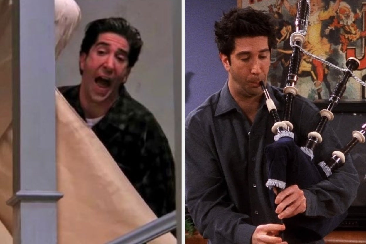 """22 Things Ross From """"Friends"""" Did That Prove He's The Backbone Of The Show"""