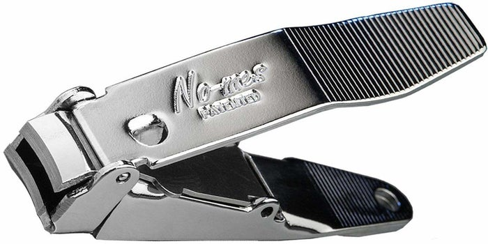 "Promising review: ""I am pretty particular about my nail clippers and these things are great. They cut great and hold the clippings neat and tidy. There is an intuitive metal flap that you re-position once you lift the main handle up. It creates a nice holding area for clippings and provides the pivot point for the handles. Once you are done, open the flap back up and discard the clippings. I recommend these to everyone."" —Jim W.Get them from Amazon for $13.95."