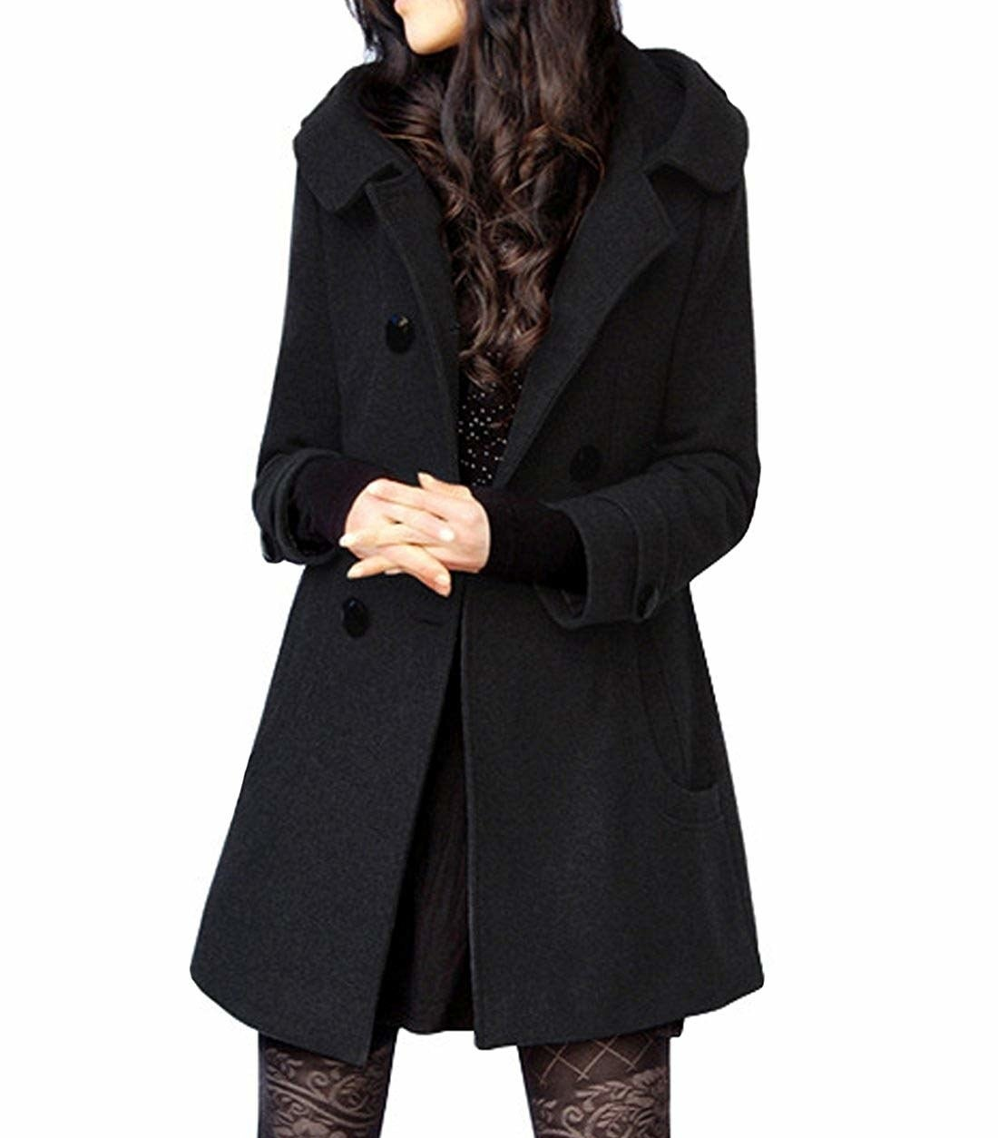"""Promising review: """"The lining is perfect. It is quilted and soft, and it keeps you warm. The hood is perfect for light rain or snow. Stylish, cozy, and warm. I was impressed. A coat like this is hard to find! Very happy!"""" —Amazon CustomerPrice: $55.97+ (available in six styles, and sizes XS–XL)"""