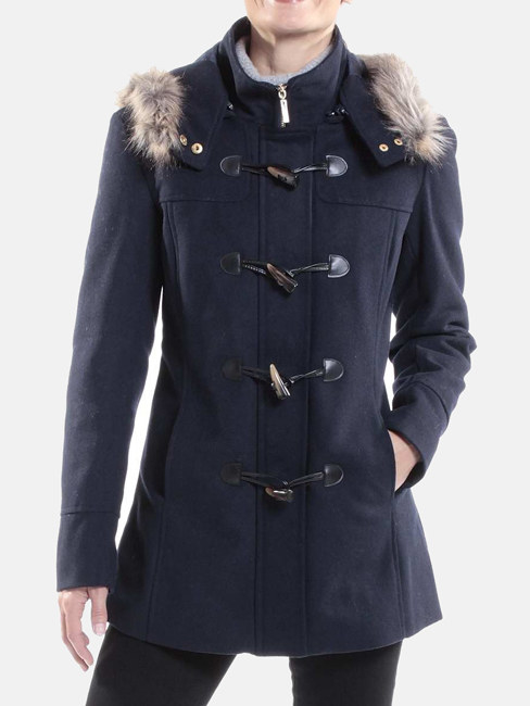 "Promising review: ""I just received mine in the mail today. I'm so pleased. The quality of this coat is amazing. I know it's going to keep me warm."" —DeeDee