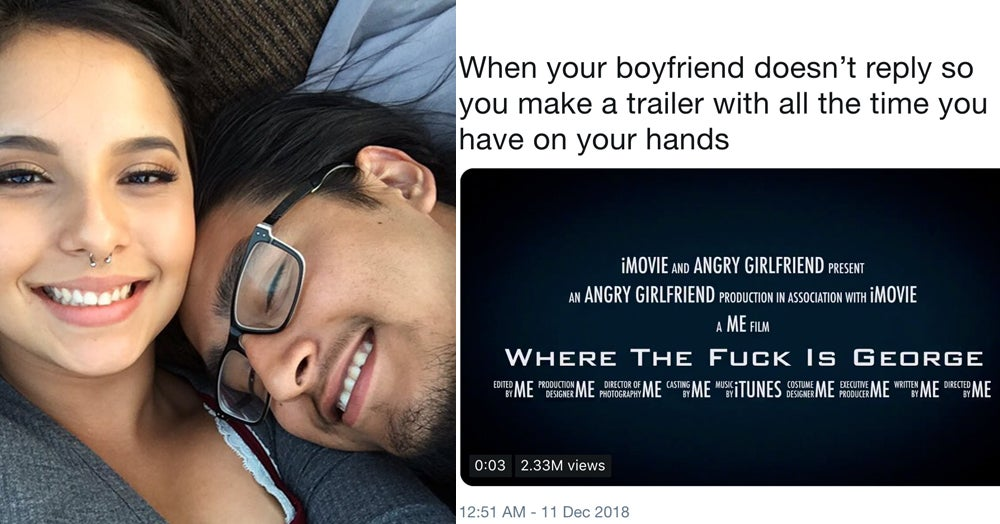 A Woman Made A Hilarious, Viral Movie Trailer When Her Boyfriend Didn't Text Back. She's Now Getting Real Job Offers.