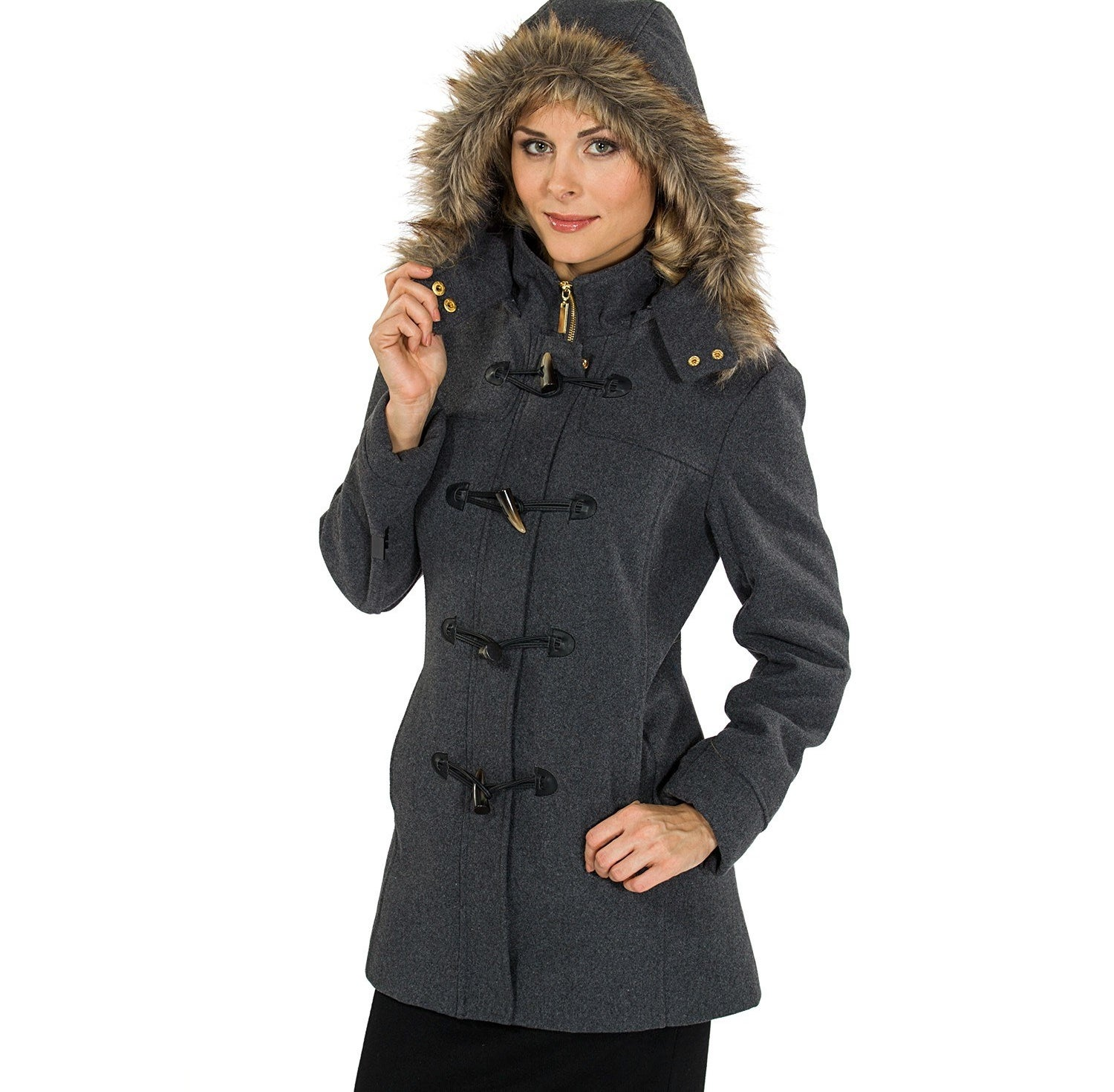 """Promising review: """"This coat is wicked good. It's kept me warm in below-zero temps, (seriously), and the details are fantastic. My boss actually complimented me on it. I'm shocked by the price of it, to be honest. Just a gorgeous coat. I've worn it daily for a few months, and it still looks brand new. Hands down one of the best purchases I've made on Amazon."""" —JanePrice: $49.99 (available in four colors, and sizes S–2XL)"""