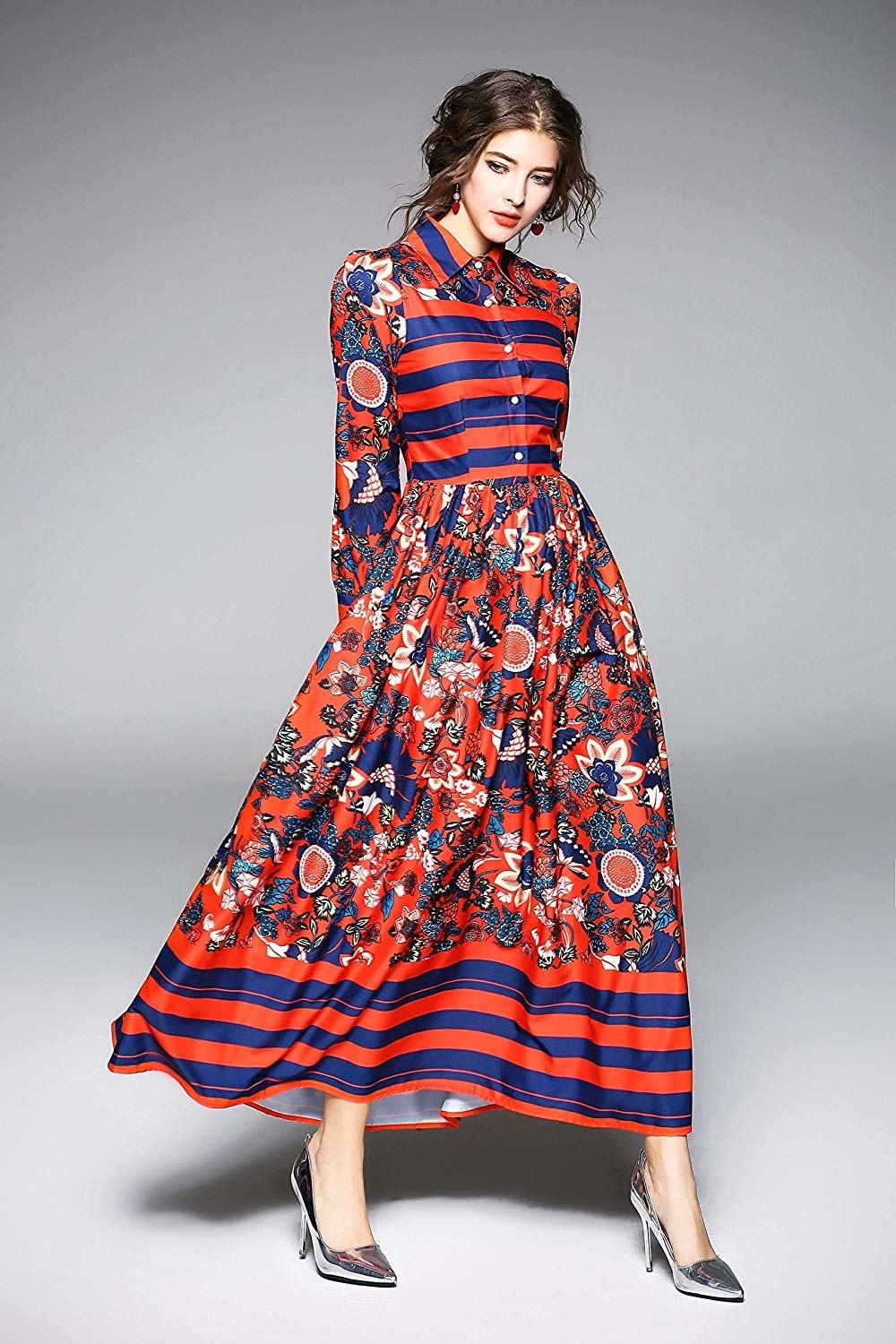 4bc6150812d And a long printed shirtdress I m amazed didn t just come straight off a  runway. You say