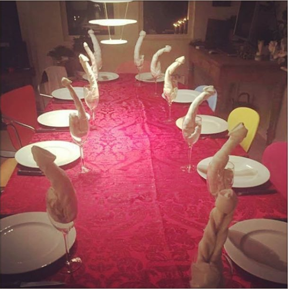And the person who only wanted to be a little fancy when they set the table for Christmas dinner