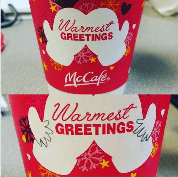 The person who only wanted to enjoy a cup of Christmas cocoa without some jokester making it totally obscene