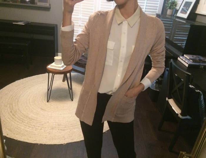 e183d67e A medium-weight cardigan to elevate your look from casual to casual-chic.  It's available in so many colors you're bound to find a few to match your  closet ...