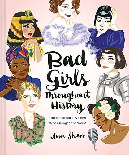 the book cover with illustrations of some of the women