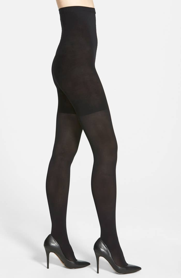 0ecc6bbd A pair of reversible Spanx tights you'll thank yourself later for buying  now. You're def going to want multiple pairs of them throughout your life.