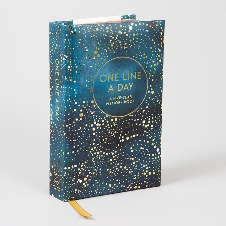 space-themed journal