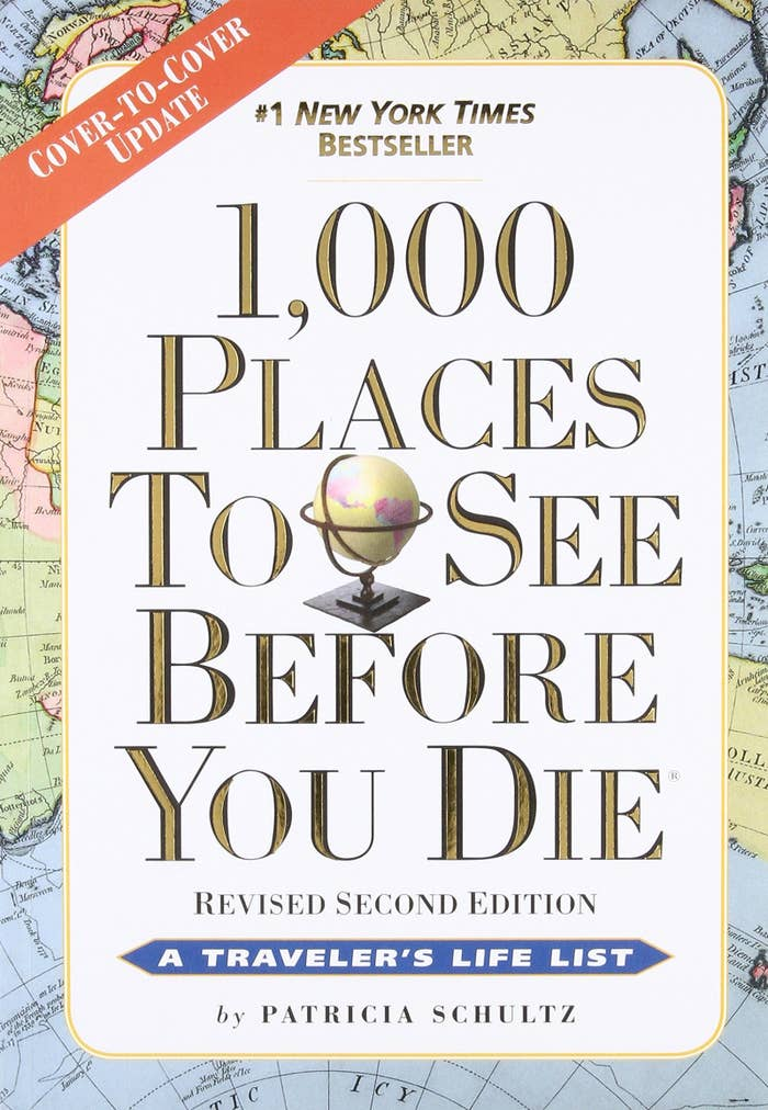 """Promising review: """"I received this book as a retirement present and since then I've given it to others when they retire. Very helpful to refer to when traveling in the US. We used the information on our trip to Florida last winter and the recommendations were spot on. We got to see things that we normally would not have selected to do. Enjoyed seeing every recommendation."""" —PatriotGet it from Amazon for $14.56+ (available in paperback or with binding)."""