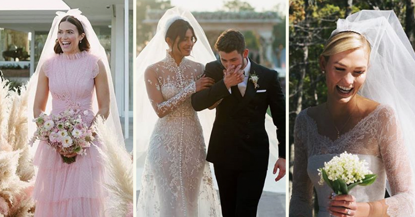f17b971eaf1a The Most Beautiful Celebrity Weddings In 2018