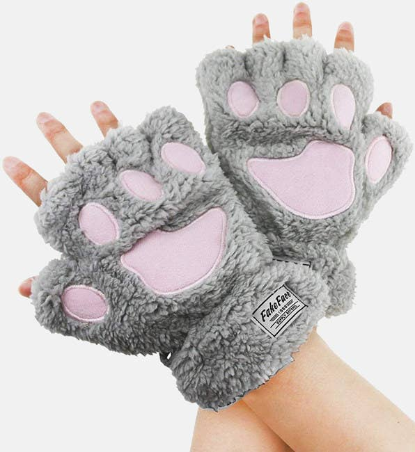 """Promising review:""""These gloves are very soft and fit nicely. if you have smaller hands, the fingers aren't tight at all. But be aware that longer nails may snag the inner material, though it's easily avoidable."""" —JessicaGet them from Amazon for$9.61(available in four colors)."""