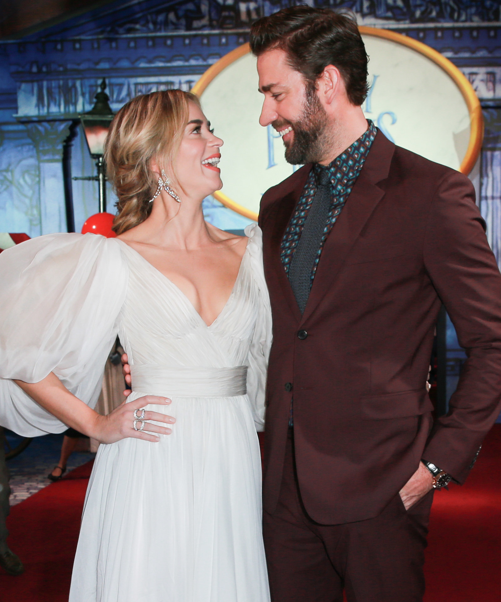 Emily Blunt And John Krasinski Reminisced About Their First Date And It's Just As Cute As You'd Think