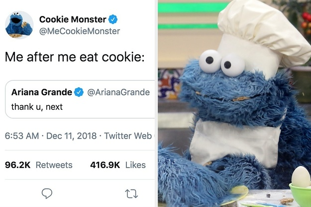Cookie Monster's Twitter Account Is So Pure, Hilarious, And Relatable