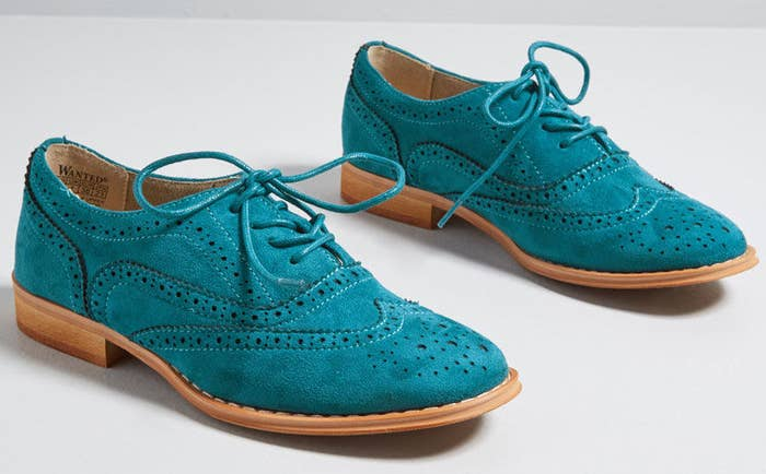Get them from ModCloth for $49 (available in sizes 5.5-11).