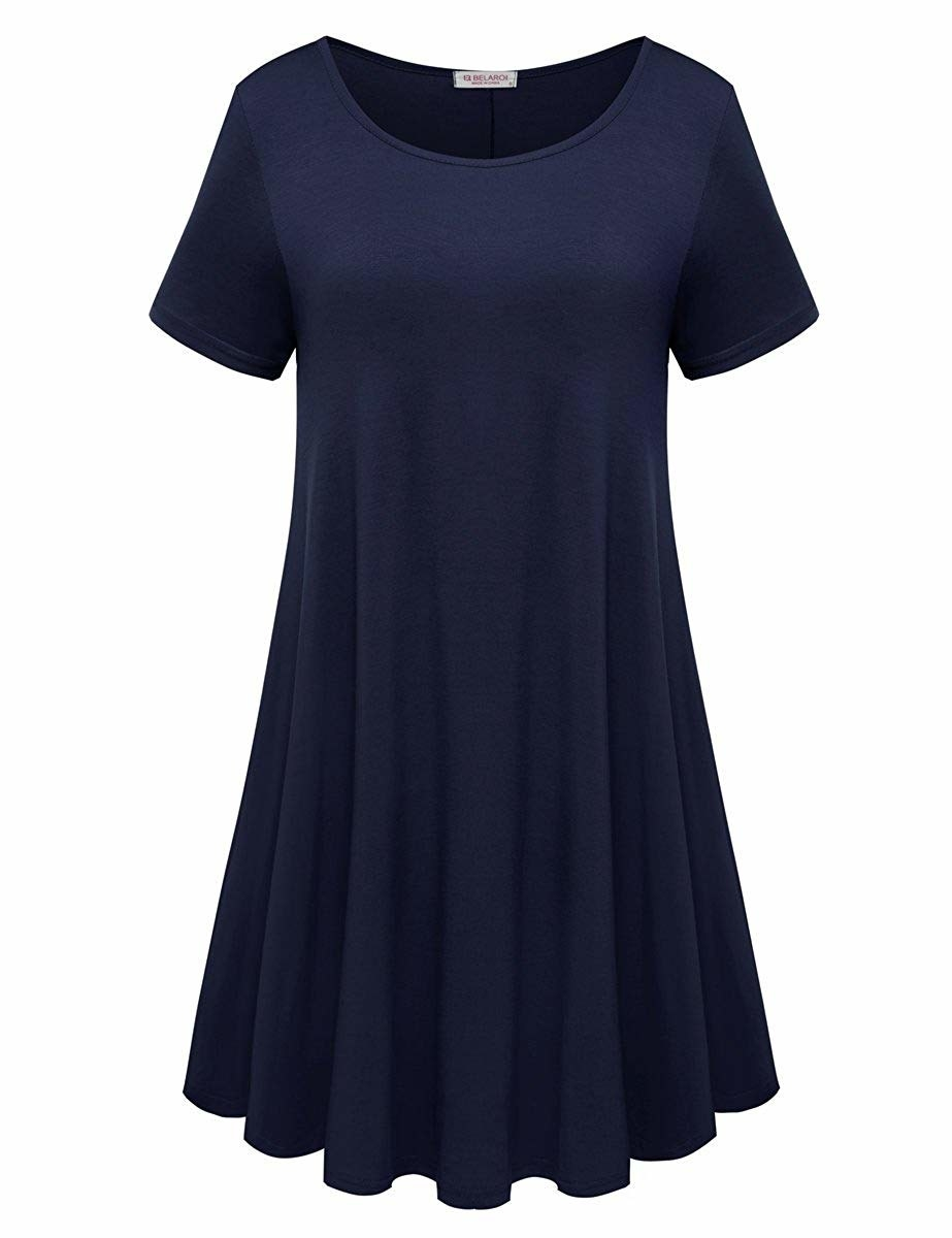 A super soft t-shirt dress with a special hatred for the word