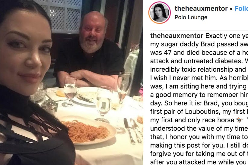 Here's Everything You Need To Know About That Woman's Viral Instagram Post About Her Dead Sugar Daddy...