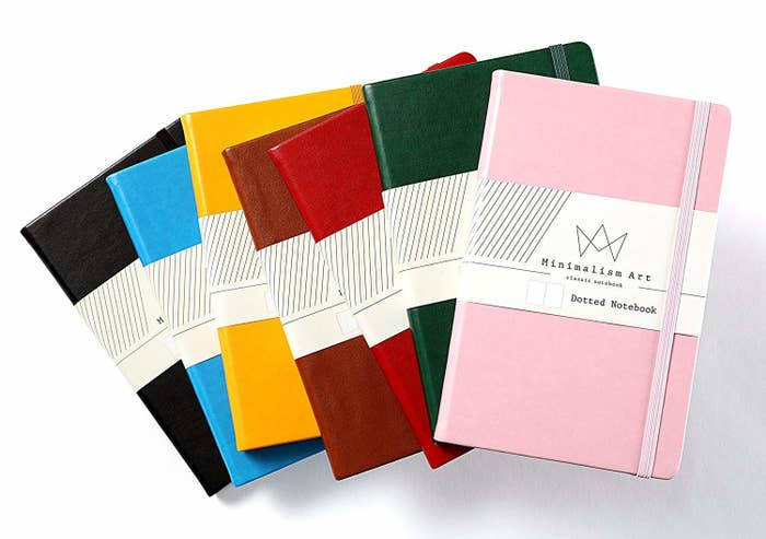Get one of these 192-page journals on Amazon for $10.95 (seven colors and multiple interior styles available). And if you want to learn more about starting your own bullet journal, check out this bullet journal explainer and bullet journal tips and tricks for 2019.