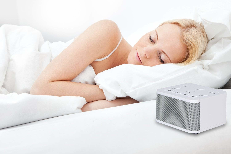 The sound machine next to someone sleeping