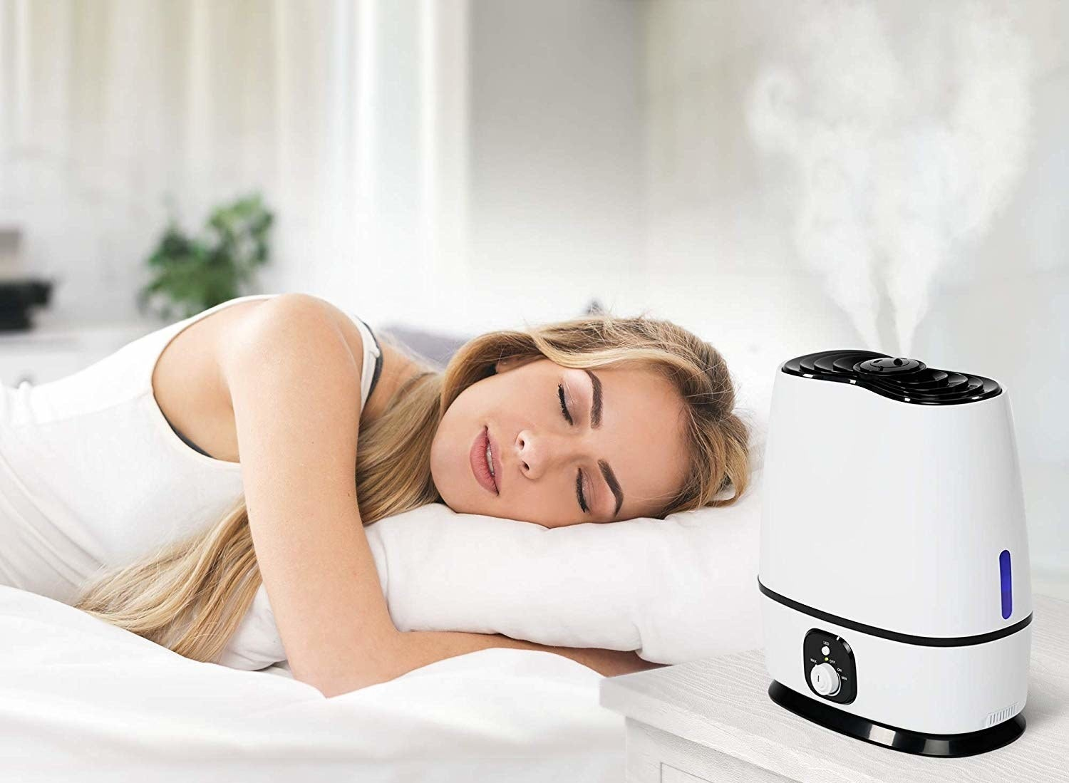The ultra-sonic cool-mist humidifier