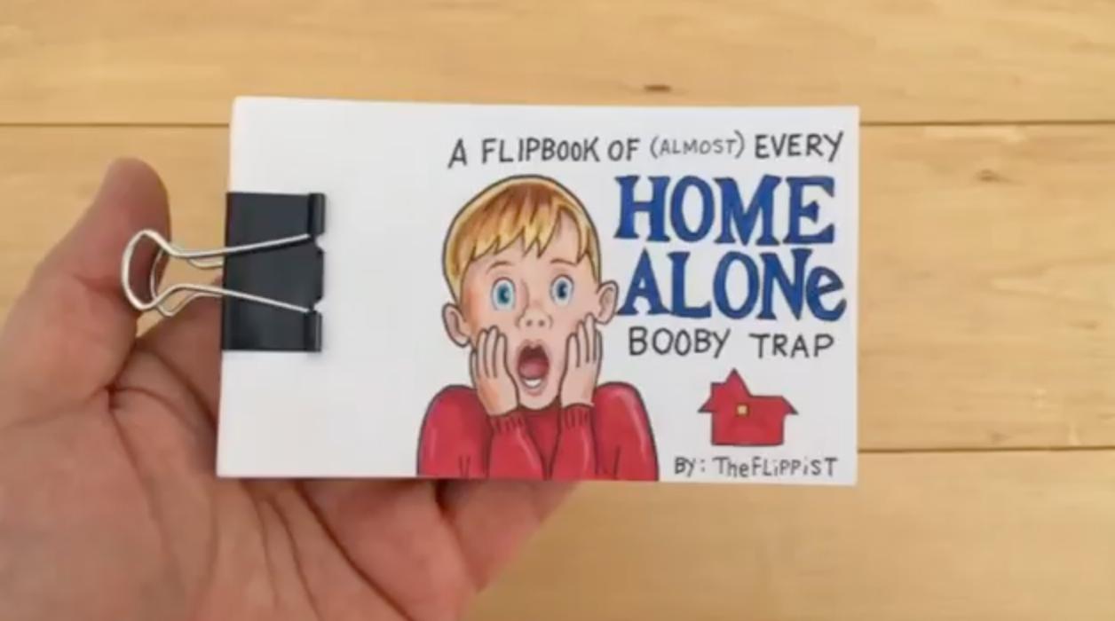 Home alone booby traps