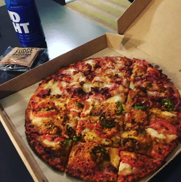 Where: Columbus, OH.What they're known for: Their delicious square-cut thin crust pizza.