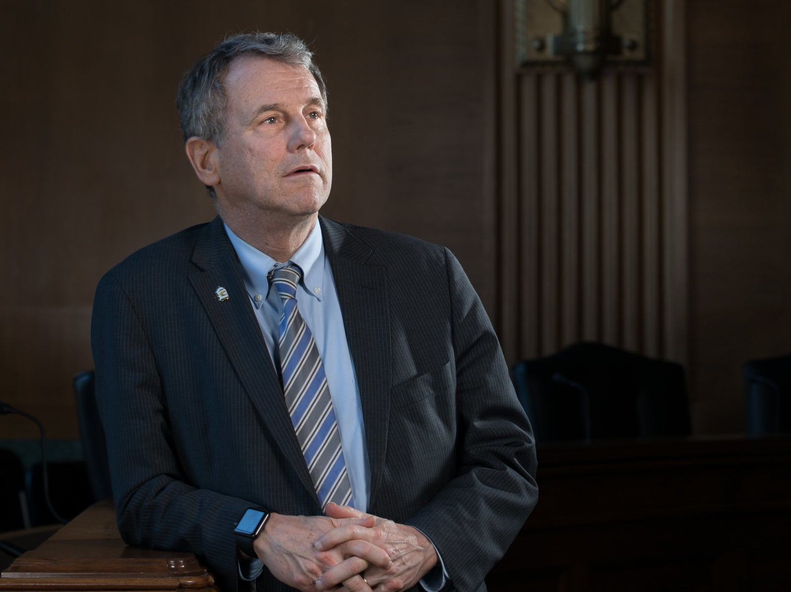 How Sherrod Brown Turned His Rumpled Authenticity Into A Brand — And Gave Himself A Good Story To Tell In 2020